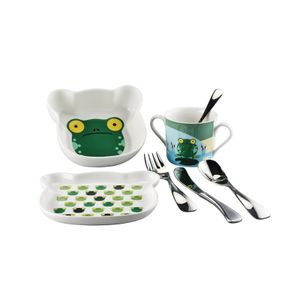 Set vesela pentru copii Froggy Sambonet
