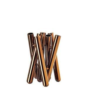 Vaza sticla 21 cm Seven Contour Kupfer Rosenthal