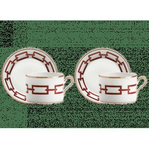 Set Ceai Catene Richard Ginori 1735
