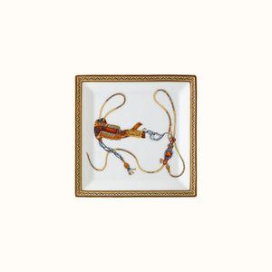 Platou patrat N3 Cheval d Orient Hermes