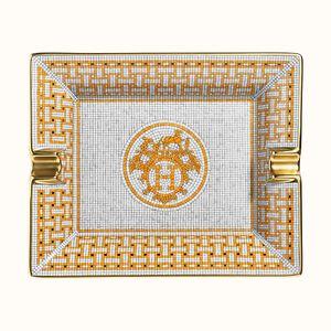 Scrumiera patrata Mosaique au 24 Hermes