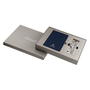 Set agenda si semn carte argintat Moleskine Jardin Parisiene Christofle