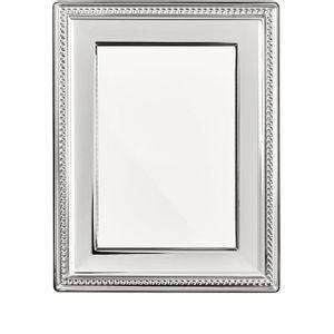 Rama foto argintata 18x24cm Perles Christofle