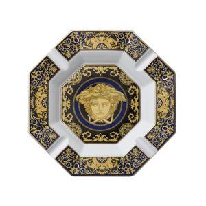 Scrumiera 14cm Medusa Blau Rosenthal Versace