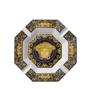 Scrumiera 24cm Medusa Blau Rosenthal Versace